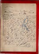 Courrier Espagne Lanas Pieles Y Polvo Preservativo Miguel Gomez Vitoria 11-?-1897 - écrit En Espagnol - España