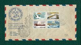 ITALIA 1956 - FDC - VII Giochi Olimpici Invernali Di Cortina - 4 Valori - Sassone 793-96 - F.D.C.