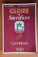 Livre La Bataille De GEMBLOUX Perwez Mai 1940 Chars Français Tirailleurs Maroccains RTM Panzer WW2 Militaria - Books, Magazines, Comics