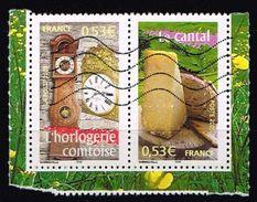 Frankreich 2005, Michel# 3919 - 3920 O     Portraits Of Regions 5 - France To Live - Frankreich