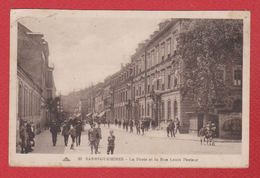 Sarreguemines / La Poste Et La Rue Louis Pasteur - Sarreguemines