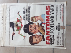 ORIGINELE FILMAFFICHE Afmetingen: 56 Cm Op 37 Cm LOUIS DE FUNES FANTOMAS - Posters