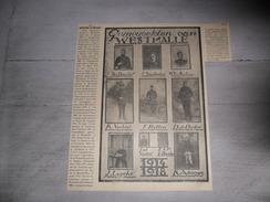 Origineel Knipsel ( 774 ) Uit Tijdschrift   :  Gesneuvelden Van Westmalle - Soldaten Soldaat Oorlog - Zonder Classificatie