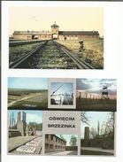 AUSCHWITZ LOT DE PHOTOS CARTES ET TIMBRES - Histoire