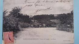 CPA SAINT ETIENNE DE MONTLUC 44 ROUTE DU TEMPLE LE CHAUX ED SANTERRE - Saint Etienne De Montluc