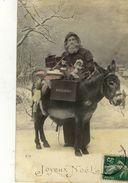 CPA (NOEL - PERE NOEL) Joyeux Noel (ane)   (boite 12) - Postcards