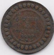 Tunisie 5 Centimes 1917 - Coins