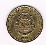 )  COSTA RICA  100 COLONES  2000 - Costa Rica