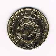 )  COSTA RICA  100 COLONES  2007 - Costa Rica