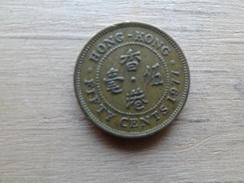 Hong Kong    50  Cents  1977  Km 41 - Hong Kong