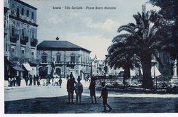 Licata  (AG) -Villa Garibaldi - Piazza B. Mussolini - - Agrigento