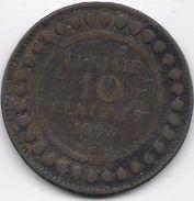 Tunisie 10 Centimes 1903 - Coins