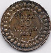 Tunisie 10 Centimes 1916 - Coins