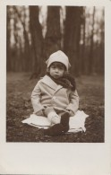 Photographie - Carte-Photo - Enfant - Parc Forêt - Photographie