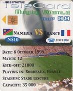 TARJETA TELEFONICA DE NAMIBIA. (FUTBOL) (285) - Namibia