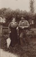 Photographie - Carte-Photo - Couple - Pont Jardin - Mode - Photographie