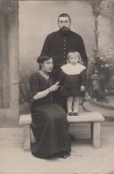 Photographie - Carte-Photo - Famille - Militaire - Photographie