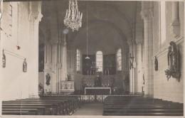 Photographie - Carte-Photo - Intérieur Eglise - Lieu à Localiser - Photographie