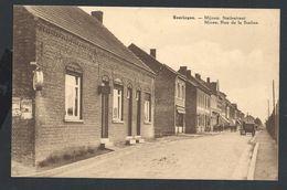 +++ CPA - BEERINGEN - BERINGEN - Mines - Rue De La Station - Mijnen - Statiestraat  // - Beringen