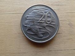 Australie  20  Cents  1968  Km 66 - Monnaie Décimale (1966-...)
