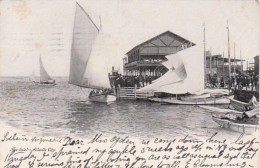 New Jersey Atlantic City Sailboats At The Inlet 1905