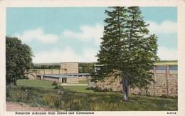 Arkansas Batesville High School and Gymnasium Curteich