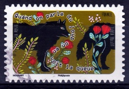 "France, Proverb ""Quand On Parle Du Loup…"", 2016, VFU Self-adhesive - Frankrijk"