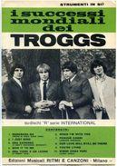 20> THE TROGGS Spartito Beat 1967 Con 10 Canzoni - Strumenti In Si-b = Sheet Music - Musica & Strumenti