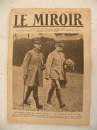 Le Miroir Guerre 1914/1918>Journal N°228 > 7.4.1918 >Pétain Et Foch,Douglas Haig Et Currie,Bataille De La Somme - War 1914-18
