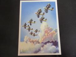 Postkarte Luftsport 1937 - Allemagne