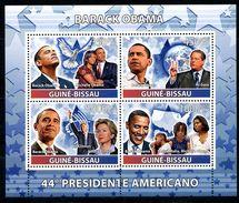 GUINEA-BISSAU 2008 GB0114 44th US President Barak Obama (NOBEL PRIZE LAUREATE) - Famous People