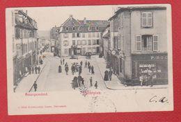 Sarreguemines / Saargemünd / Marktplatz - Sarreguemines