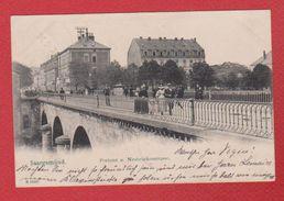 Sarreguemines / Saargemünd / Postamt Und Neubrückenstrasse - Sarreguemines