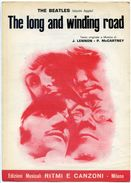 218> THE BEATLES Spartito Beat 1970 < The Long And Winding Road > = Sheet Music - Musica & Strumenti