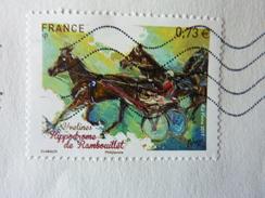 2017 Hippodrome De Rambouillet 20g Lettre Verte TBE Oblitéré Used - Used Stamps