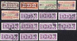 5_ DDR - Lot Dienstmarken ZKD - Gestempel Used + Postfrisch MNH - [6] Democratic Republic