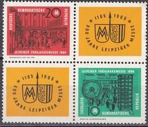 5_ DDR - Mi.Nr. 1012 - 1013 Zusammendruck - Postfrisch MNH - DDR