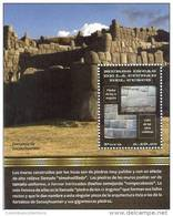 Lote P2013-1, Peru, 2013, HF, SS, Muros Incas De La Ciudad De Cusco, Indigenous Themes - Pérou