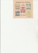 ESPAGNE - ASTURIES &LEON  - BLOC FEUILLET NON DENTELE DE 1937 NEUF XX - Asturias & Leon