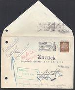 ALLEMAGNE - Enveloppe Du 11-2-1939 Du Consul Général De Roumanie De Munchen En Ville - Cachet + Flamme Pub. B/TB - - Allemagne