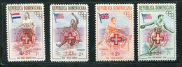 Rep Dominicaine ** N° 452/453 - 454/455 - Croix Rouge - Dominican Republic