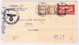 Portugal, 1942, Lisboa-Coburg, Censura - 1910-... Republic