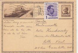 CONSTANTA CASINO, KING CHARLES 2ND, PC STATIONERY, ENTIER POSTAL, 1939, ROMANIA - 1918-1948 Ferdinand I., Charles II & Michel