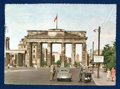 Berlin. Brandenburger Tor. Sektorengrenze. 1956 - Porta Di Brandeburgo