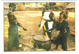 Gambia - Village - Femme - Nue Girl - Woman - Frau - Erotic - Erotik - Nice Stamp - Gambia