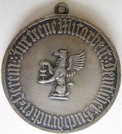 Silbermedaille, En Argent 990 , Deutscher Buchdruckerverein  Typographe, Par Morin - Unclassified