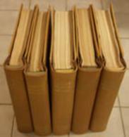 Santé - 5 Livres : Très Rare  Encyclopédie Médico-Chirurgicale, 34 X 30.5 X 7 Cm  Dorsal En Bois - Santé