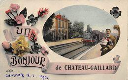 Château Gaillard Bonjour Fantaisie Canton Ambérieu Envoi à Mallet à Lagnieu - Autres Communes