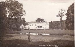 CP Photo 14-18 Château D'ANNAPPES (Villeneuve-d'Ascq) - Soldat Allemand (A180, Ww1, Wk 1) - Villeneuve D'Ascq