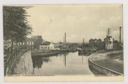 CHARLEROI : La Sambre, Route De Philippeville – Negleman Céramique, Moulin (f7409) - Charleroi
